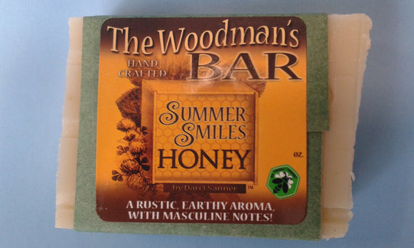 The Woodsman's Bar - made by Summer Smiles Honey Farm