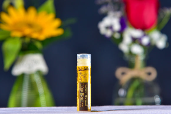 Natural Lip Balm made by Summer Smiles Honey Farm