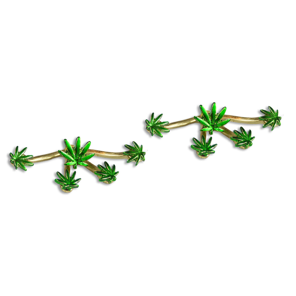 Marijuana Multi-stud Earrings! - Miss Mary Jane Co.