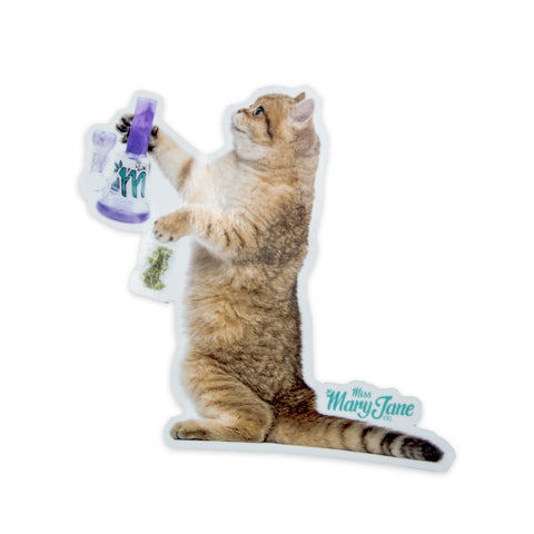 Kitty Wants To Blaze Sticker! - Miss Mary Jane Co.