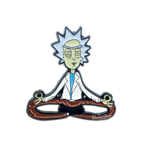Meditative Rick Pin! - Miss Mary Jane Co.