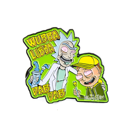 Rick & Morty Space Dabs Pin!