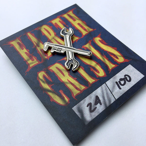 Earth Crisis Wrenches Enamel Pin