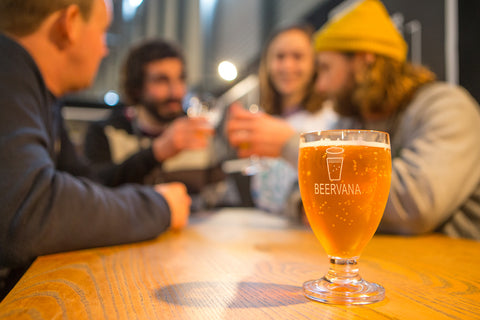 Mates and beers at Beervana