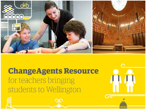 ChangeAgents resource for teachers