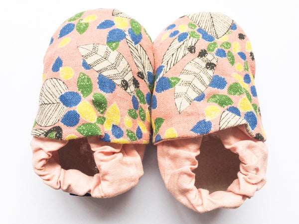 Baby shoes | Pink Floral Classic Slip