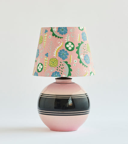 Faience Table Lamp - SOLD