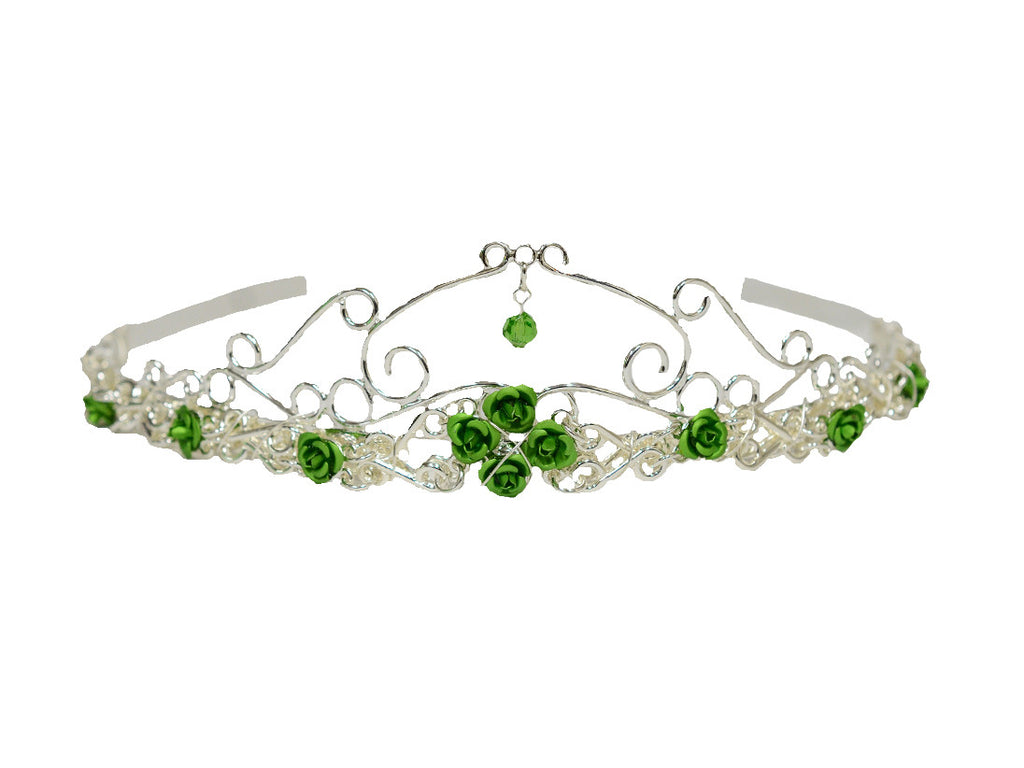 Royal Rose Crown - Silver