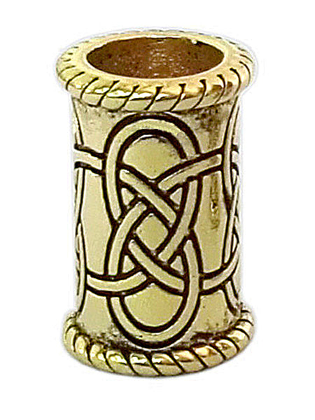 New! Celtic Strength Hair Bead - Gold Regular