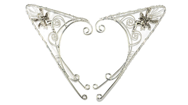 Elf Cuff Pointy Fairy - Silver