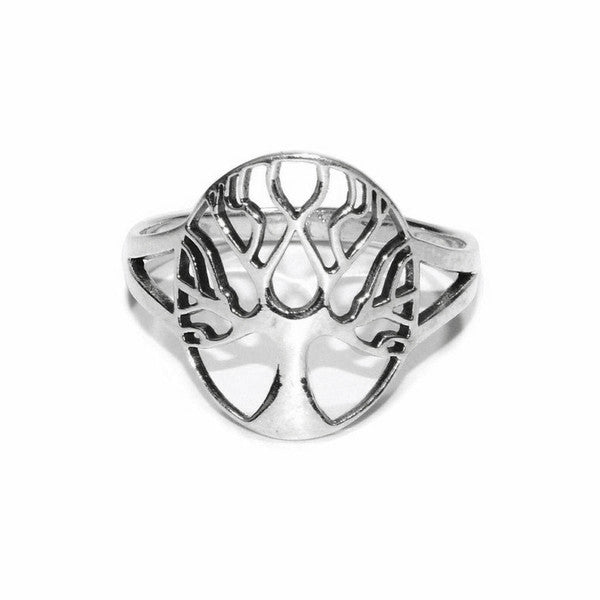 Tree of Life Ring - Sterling Silver