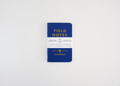 Wisconsin Field Notes - 3 pack