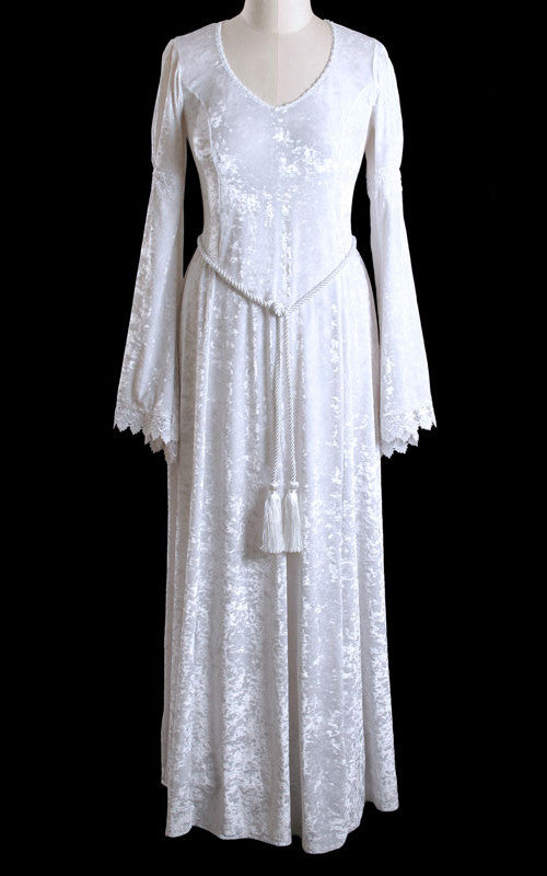 419WT - White Gabriel Dress