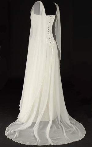 439IV - Ivory Avalon Dress