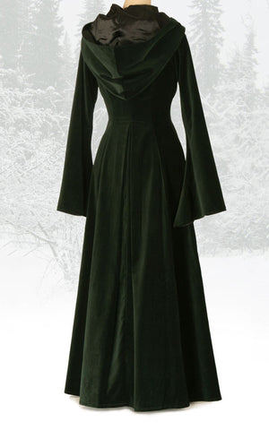 442 - Beltane Coat (Forest Green or Midnight Blue)