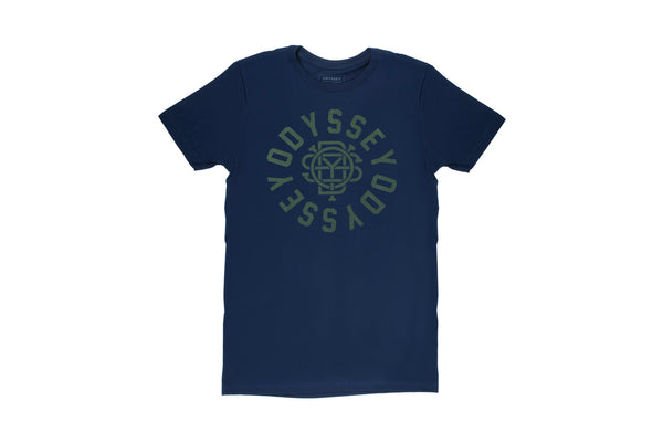 Central Tee (Navy Blue/Olive)