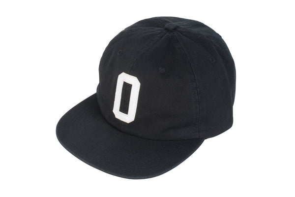 O/85 Unstructured Hat (Black)