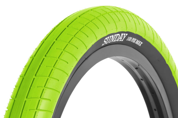 Street Sweeper Tire (Lime Green)