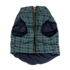 Tartan Plaid Reversible Puffer Vest