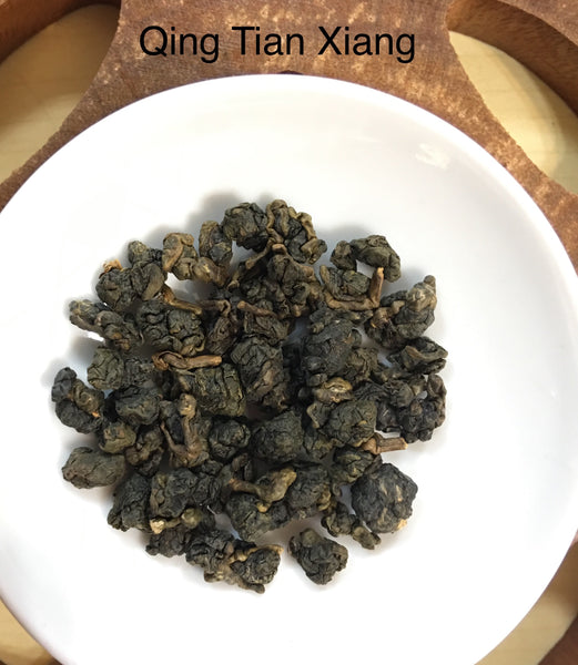 Qing Tian Xiang Taiwanese Medium Dong Ding Wulong Tea Loose Leaves