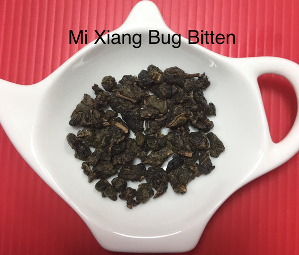 Spring 2018 Mi Xiang Bug Bitten Taiwanese Organic Oolong Tea loose leaves