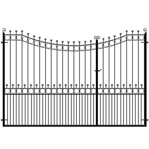 Hertfordshire 3/4 Split Driveway Gate from