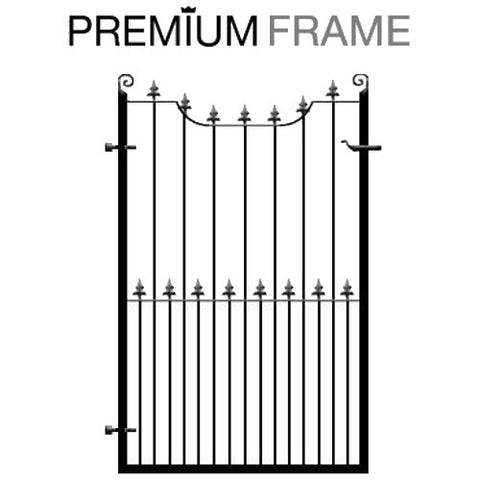 Chester Wrought Iron Garden Gate