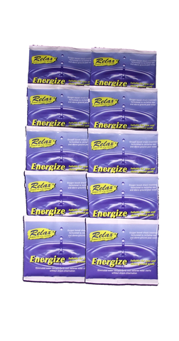 Energize Water Treatment Sachets (5 x 30g or 10 x 30g)