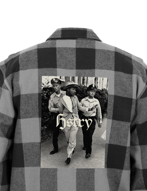 BLACK HSTRY PERSIST FLANNEL SHIRT
