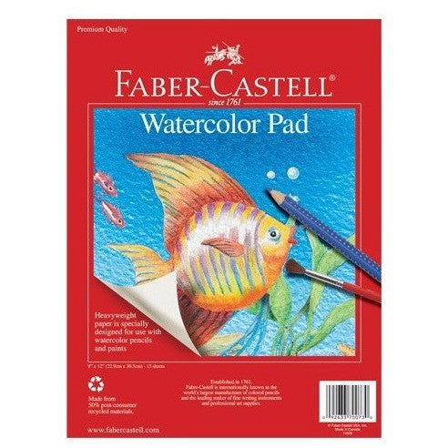 Faber-Castell Watercolor Pad - Sketchbooks - Anglo Dutch Pools and Toys