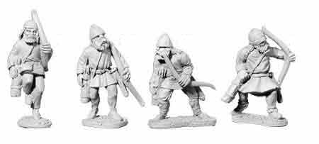 Viking Unarmoured Archers (4)