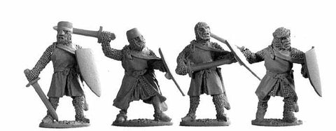 3rd Crusade Dismounted Knights with Swords (4)