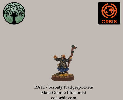 RA11 - Scroaty Nadgerpockets - Male Gnome Illusionist