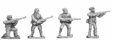 Russian Partizans with Rifles II (4)