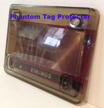 One Motorcycle Anti Photo License Plate Cover