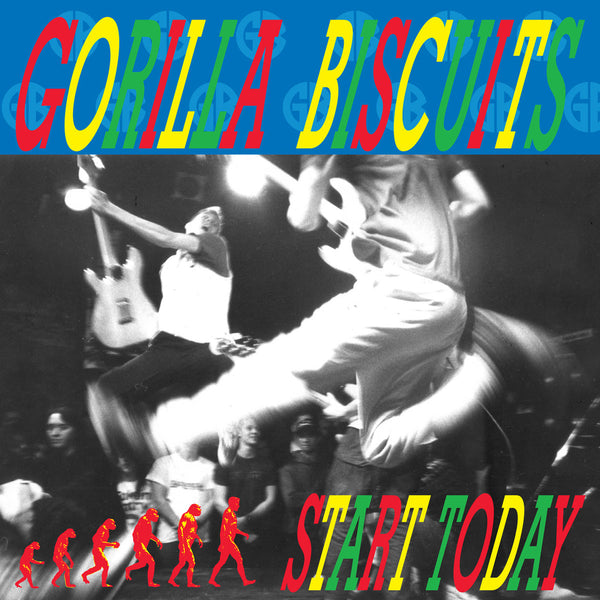 GORILLA BISCUITS - START TODAY LP