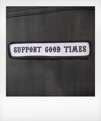 Support Patch / White