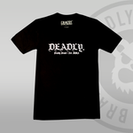 DEADLY. Wolf T-shirt traditional front print