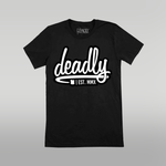 Deadly Freehand T-shirt Grey
