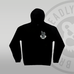 Youth / Kids Deadly Bunny Pullover Hoodie front print