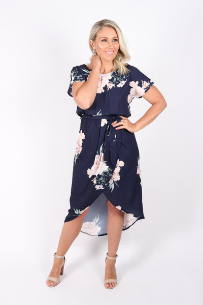 Cassidy Dress in Navy Bliss