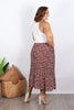 Carter Skirt in Chocolate Splash