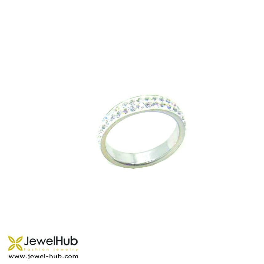 White Band Ring