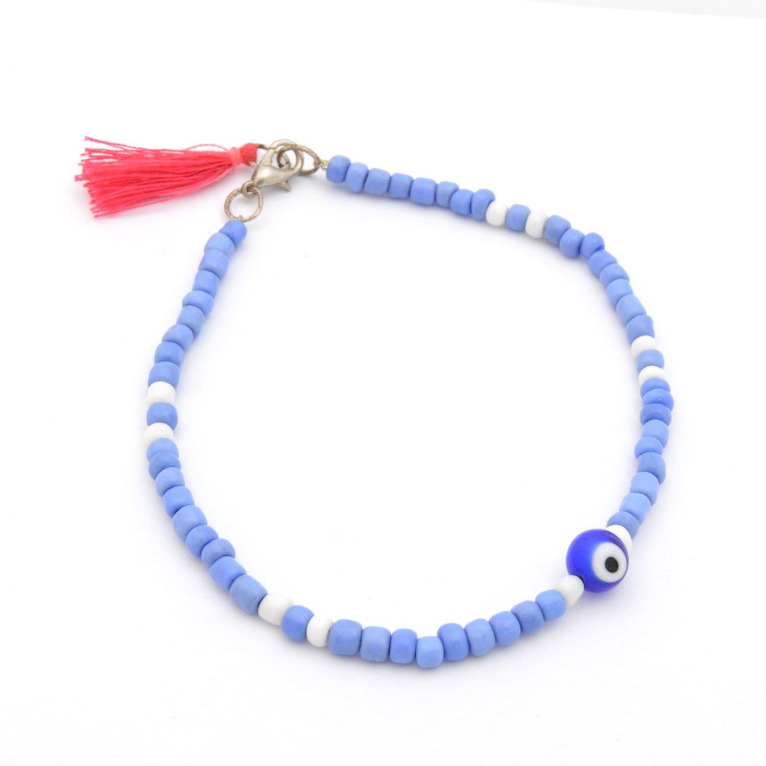 Fashionable colorful anklet