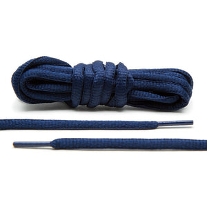 Navy Blue - Thin Oval Laces