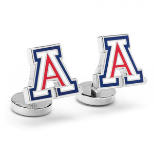 University of Arizona Palladium Cufflinks