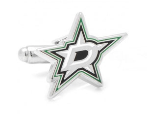 "7/8"" x 5/8"" Dallas Stars Cufflinks"