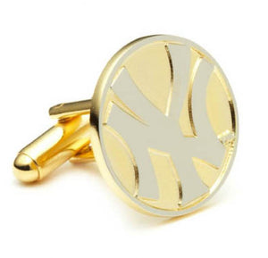 New York Yankees Two Tone Cufflinks