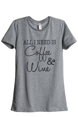 All I Need Is Coffee and Wine - Thread Tank | Stories You Can Wear | T-Shirts, Tank Tops and Sweatshirts