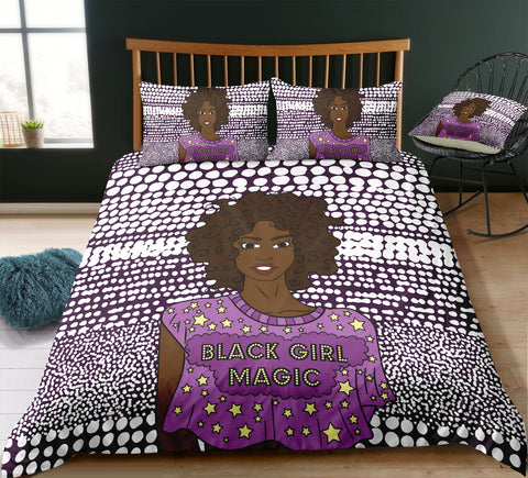Black Girl Magic Bed Set